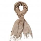 beżowy szalik InWear - moda jesień/zima