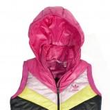 bezrękawnik Adidas z kapturem - z kolekcji jesień-zima