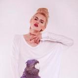 biała bluzeczka Mulholland - moda 2013