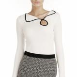 biała bluzeczka Pretty Girl - moda na jesień 2013