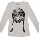 biała bluzka Carry z nadrukiem - jesień/zima 2011/2012