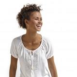 biała bluzka KiK