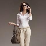 biała bluzka Nife - wiosna/lato 2012