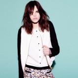 biała bluzka Pull and Bear - kolekcja wiosenna