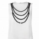 biała bluzka Top Secret - z kolekcji jesień-zima