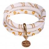 biała bransoletka Baji - modne dodatki