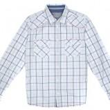 biała koszula Carry w kratkę - trendy na jesień-zimę