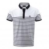 biała koszulka Henri Lloyd w paski polo - kolekcja letnia