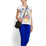 biała koszulka Mango z aplikacją - moda wiosna/lato