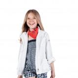 biała kurtka Geox - wiosna/lato 2012