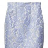 biała spódnica H&M ażurowa ołówkowa - wiosna/lato 2012