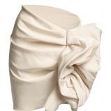 biała spódnica H&M - jesień/zima 2010/2011