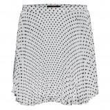 biała spódnica New Yorker w groszki - wiosna/lato 2012
