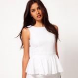 biała sukienka Asos - wiosna/lato 2012