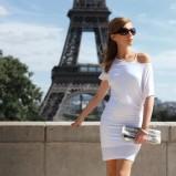 biała sukienka COL CLAUDINE PL