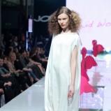 biała sukienka Dawid Woliński - kolekcja na lato