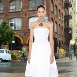biała sukienka Givenchy