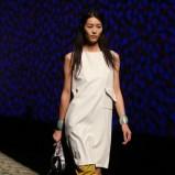 biała sukienka Kenzo - wiosna/lato 2013