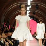 biała sukienka La Mania - lato 2011