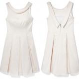biała sukienka Mohito - sezon wiosenny