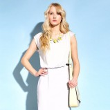 biała sukienka Monnari - trendy na lato