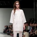 biała sukienka Natasha Pavluchenko - wiosna/lato 2012