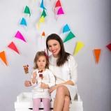 biała sukienka SmallBig dla mamy i córki