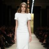 biała suknia La Mania - sezon wiosenno-letni