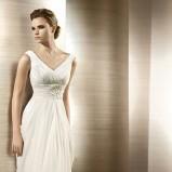 biała suknia ślubna atelier diagonal - 2012