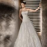 biała suknia ślubna Costura Linia A - 2012