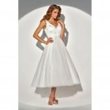 biała suknia ślubna H!Bridal na ramiączkach