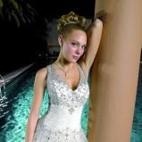 biała suknia ślubna Miss Kelly - moda 2012