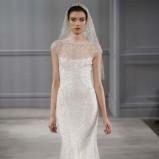 biała suknia ślubna Monique Lhuillier z kryształkami