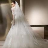 biała suknia ślubna San Patrick koronkowa - 2012