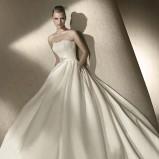 biała suknia ślubna San Patrick rozkloszowana - 2012
