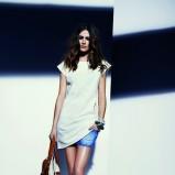 biała tunika Reserved - lato 2013
