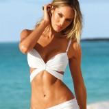 białe bikini Victorias Secret - kolekcja letnia