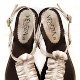 białe sandały Venezia - lato