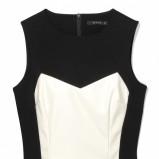 biało-czarna sukienka Mohito - lato 2013