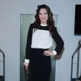 biało-czarna sukienka - Paulina Sykut - Jeżyna