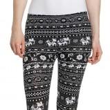 biało-czarne legginsy C&A - wiosna-lato 2013