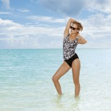 biało-czarny strój kąpielowy Sunmarin - moda na plażę 2013