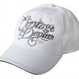 biały czapka z daszkiem Big Star z napisami - lato