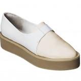 biały flatformy H&M - wiosna/lato 2012