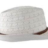 biały kapelusz Pull and Bear - wiosna-lato 2011
