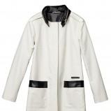 biały płaszcz H&M - wiosenna kolekcja