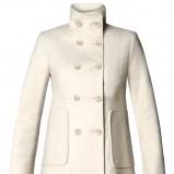 biały płaszcz Mango - jesień/zima 2011/2012