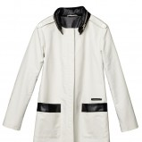 biały płaszczyk H&M - wiosenna kolekcja
