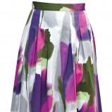 biały spódnica Gapa Fashion w kwiaty - wiosna-lato 2011