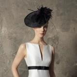 biały suknia ślubna Higar Novias z paskiem gładka - trendy 2012